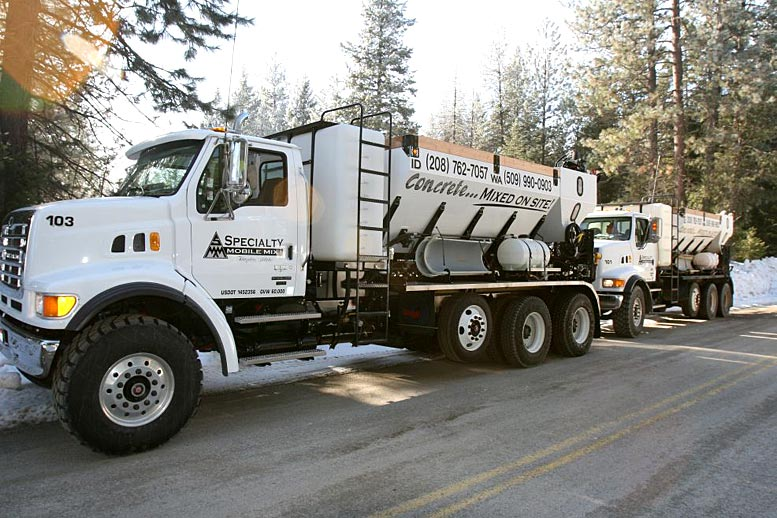 Specialty Mobile Mix Concrete